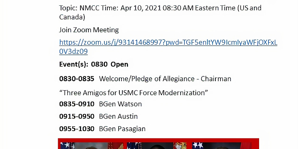 NMCC Semi-Annual Meeting