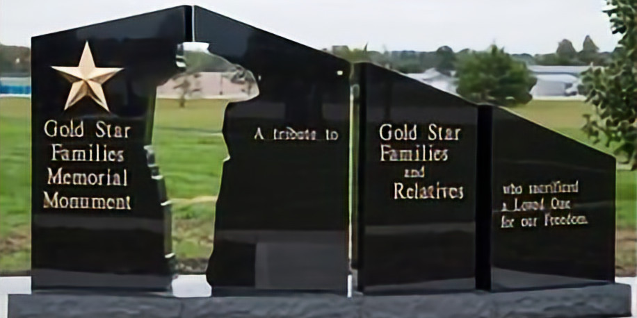 Gold Star Memorial Dedication event May 1