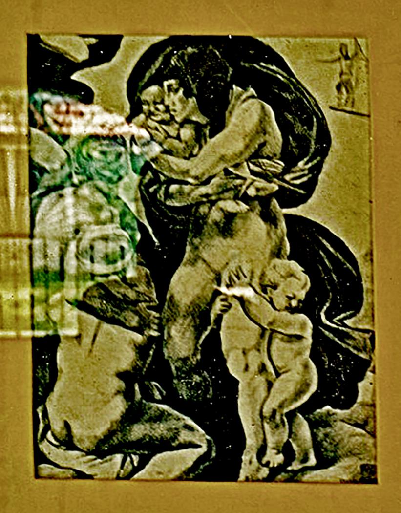 Study After Michaelangelo (1985)
