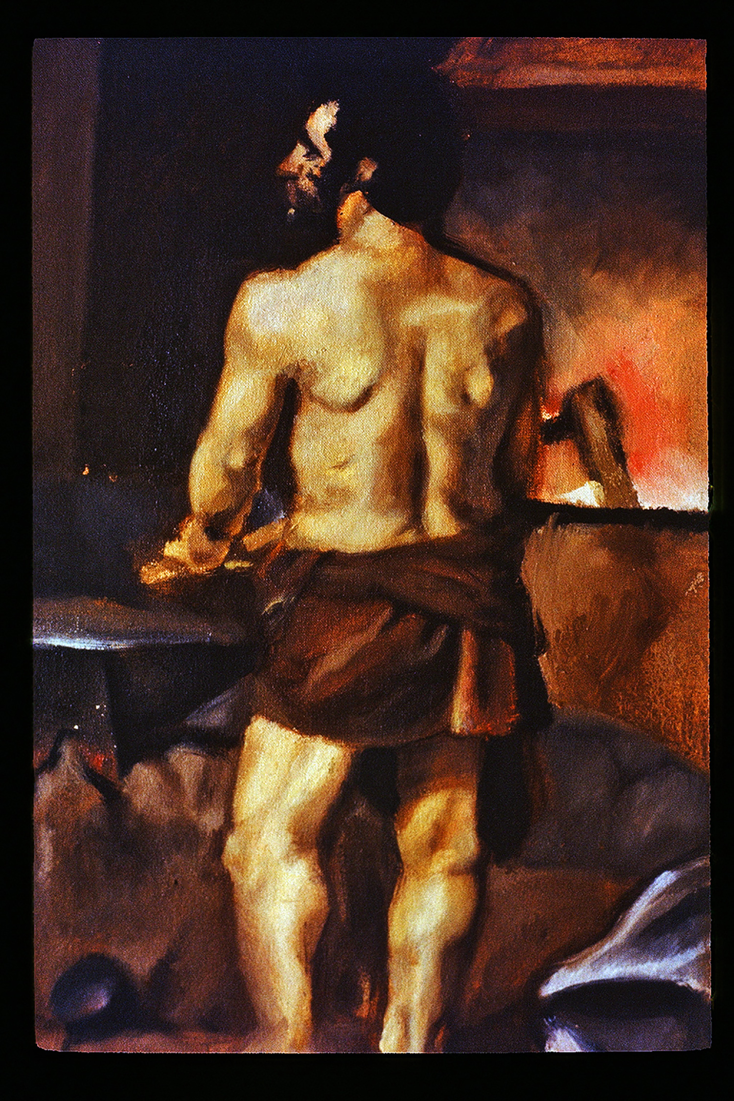 Study of Blacksmith (1983)
