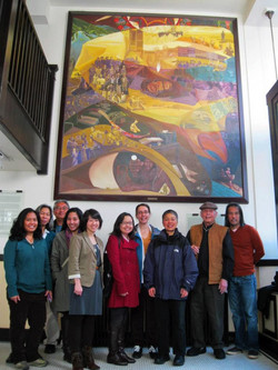 APALA members at the Carlos Bulosan