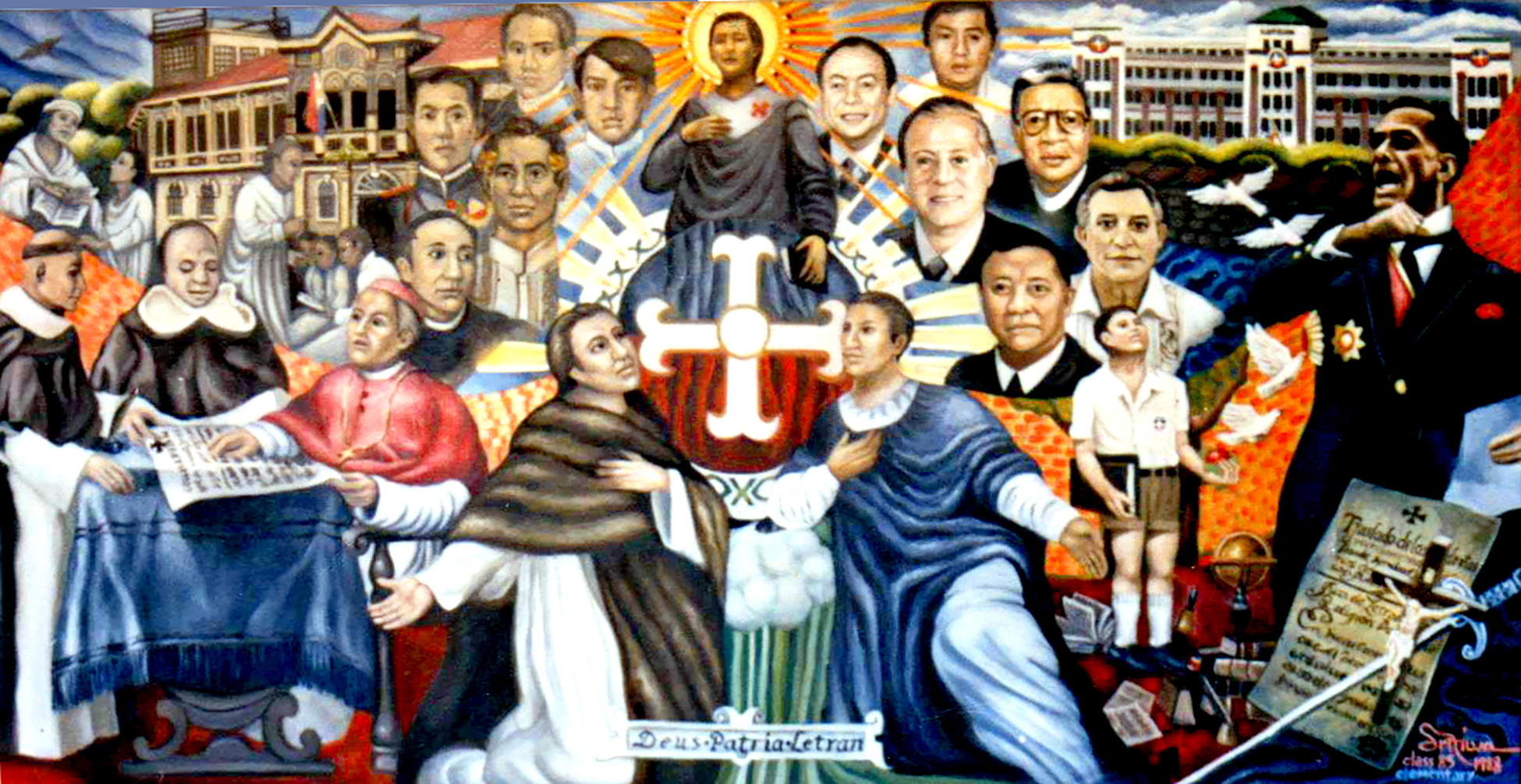 Deus Patria Letran (1987)
