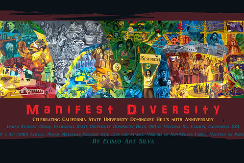"Manifest Diversity (32"" x 16"") Giclee on Canvas"