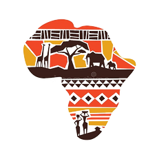 africa-continent-tribal-art-map-concept-