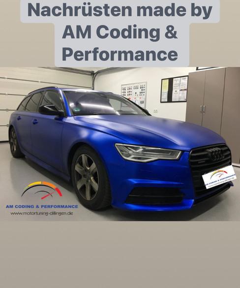 MATRIX LED Audi A6 4G FL