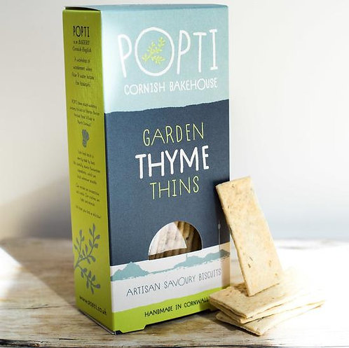CORNISH THYME THINS / CRACKERS