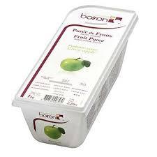 FROZEN GREEN APPLE PUREE 1 KG