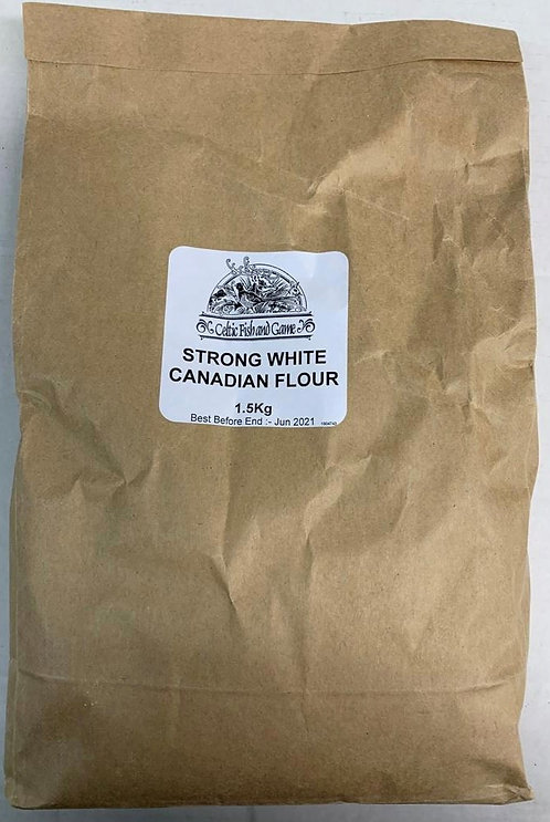 CANADIAN BAKERS STRONG BREAD FLOUR 1.5KG
