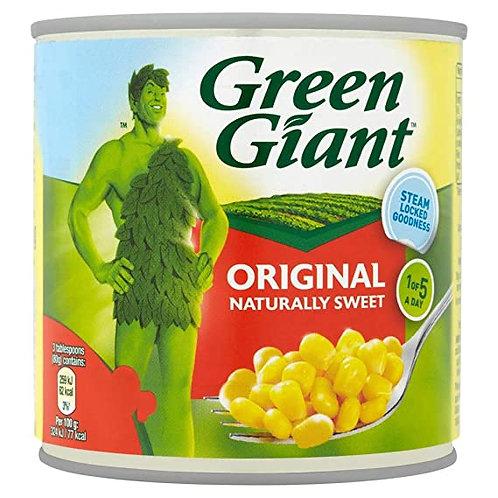 GREEN GIANT SWEETCORN 340G TIN