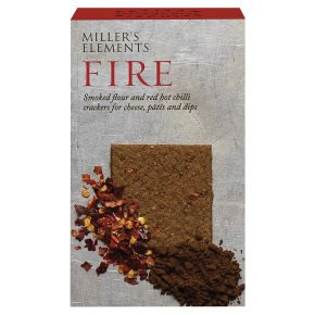 MILLERS CHILLI WHEAT CRACKERS 100G