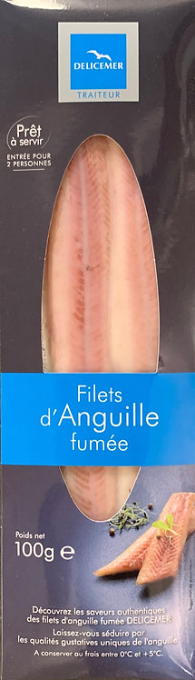 FROZEN HOT SMOKED EEL FILLET 125g (2 fillets)