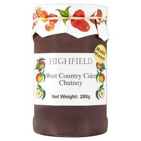WEST COUNTRY CHUTNEY 280G JARS