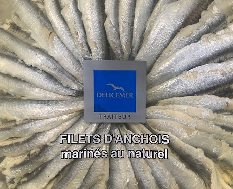 ANCHOVY FILLETS IN OIL 1KG TUB (WHEEL)
