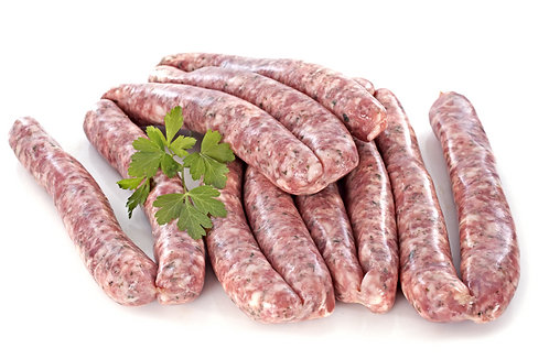 CORNISH CHIPOLATA SAUSAGES PK/12