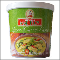MAE PLOY GREEN THAI CURRY PASTE 1KG