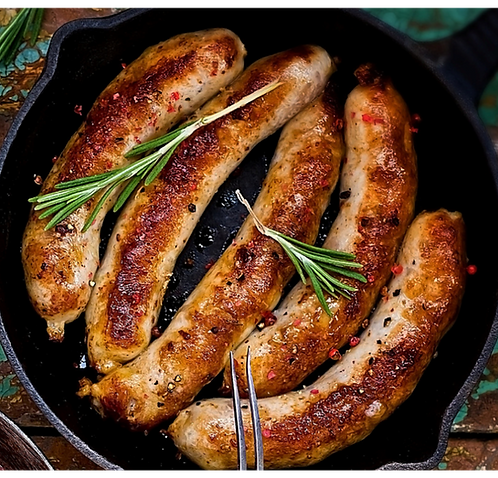 CORNISH BREAKFAST SAUSAGES (Pack of 9)