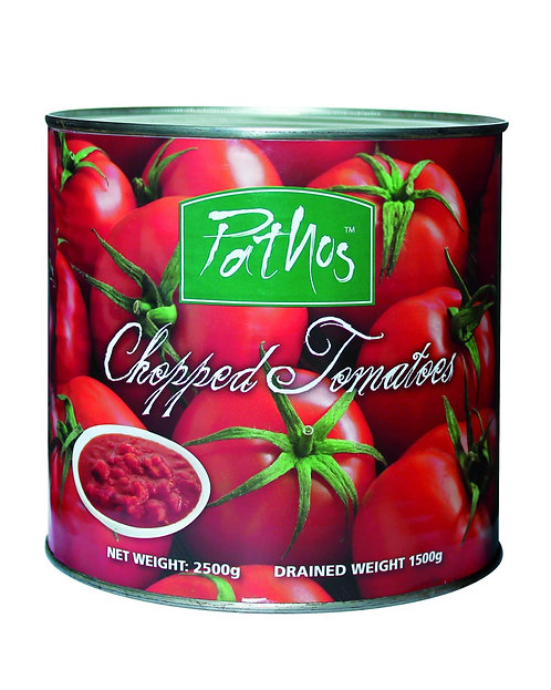 DICED TOMATOES 2.5KG