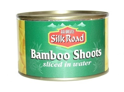 BAMBOO SHOOTS SLICED IN WATER 540G TIN