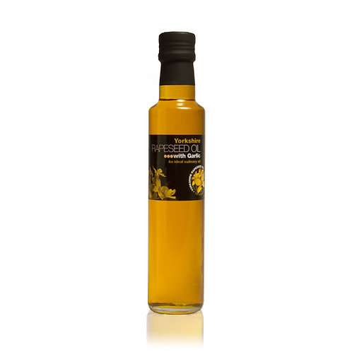 GARLIC INFUSED RAPESEED OIL 250ML