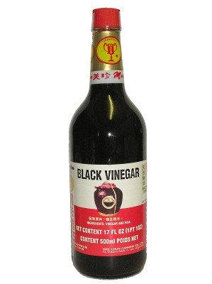 CHINESE BLACK VINEGAR 550ML