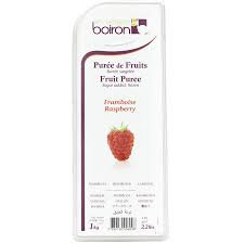 FROZEN RASPBERRY PUREE 1KG