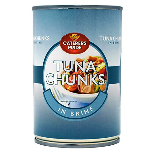 TUNA IN BRINE 400G TIN