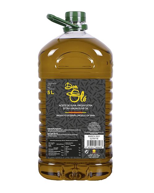 SPANISH EXTRA VIRGIN OIL 5 L BOTTLE