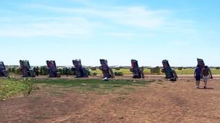 Cadillac Ranch: A Staple of Roadside Texas