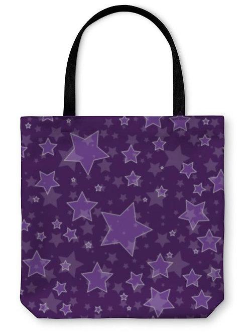 Tote Bag, Star Pattern