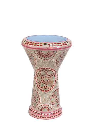 Full Seashell Ornate Drum (Tabla)