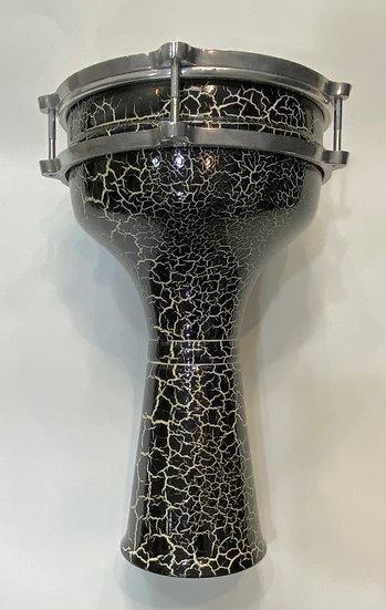 SAMIR STORES Ornate Aluminum Drum (Tabla) COLORS