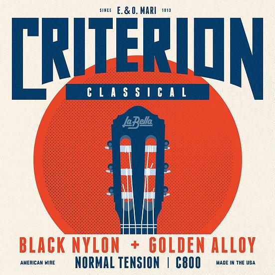C800 Criterion Black Nylon