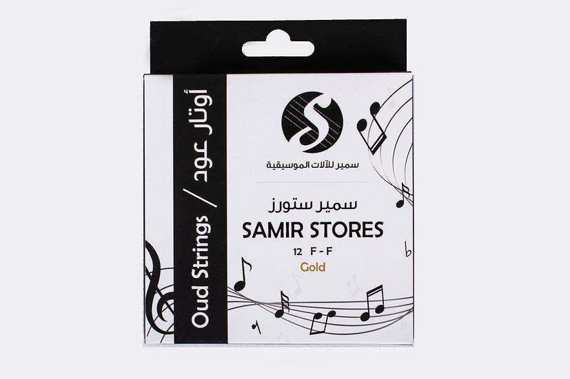 SAMIR STORES Strings F-F Gold