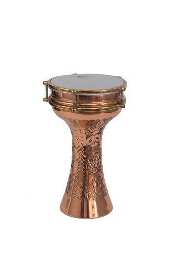 Turkish Ornate copper Tabla (Darbuka) No: 3,4,5