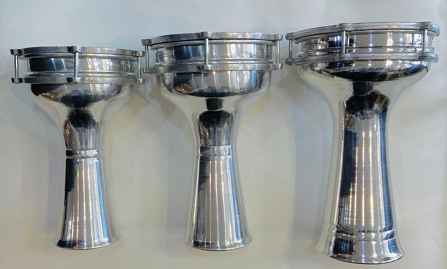 SAMIR STORES Standard Aluminum Drum 3 - Sizes