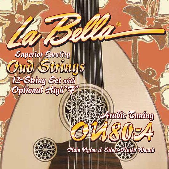 OU80A Oud, Arabic Tuning
