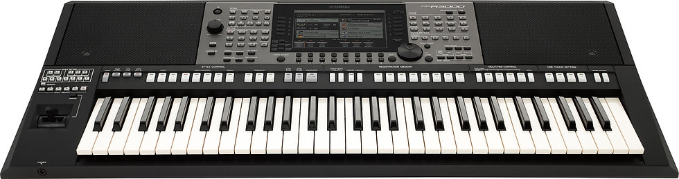 Yamaha Oriental Keyboard PSR-A3000 + Power Adaptor