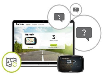 Garmin | Tomtom Sat Nav Map Updates | United Kingdom