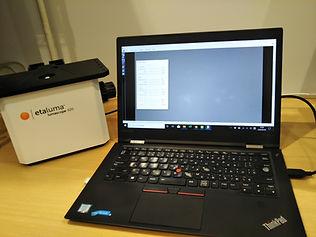 蛍光顕微鏡の使い方 - 設置方法5