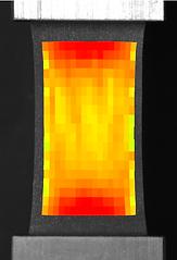 圧縮試験機 - UniVert - ヒートマップ