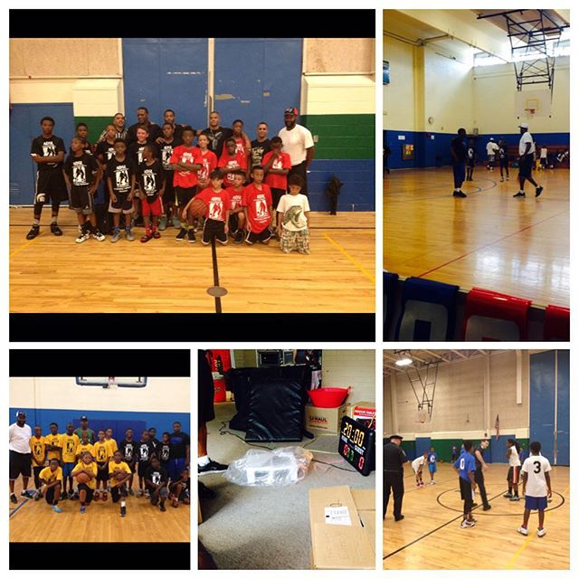 Just a few moments from the first annual_ _National Night Out Dorchester  Basketball Showcase! _We h