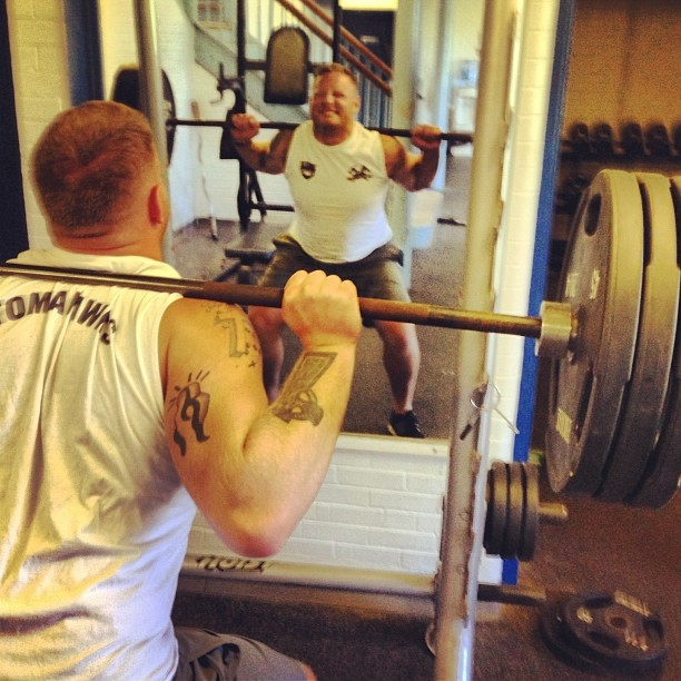 The legs feed the wolf! Shane getting strong for rugby! #ADSL #Rugby #Dorchester #Boston #Lifting #F