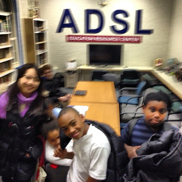 The kids are here for a fun night of homework and tutoring at #ADSL #Dorchester #Boston #School #Tut