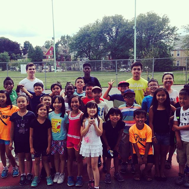 Another Amazing day with the campers #Dorchester #townfield