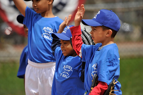 Baseball T-Ball (Ages 5-7)