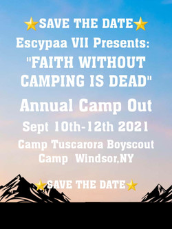 ESCYPAA Camp Out Sept10-12