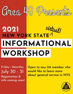 Area 48 NYS Info Workshop Jul30-31