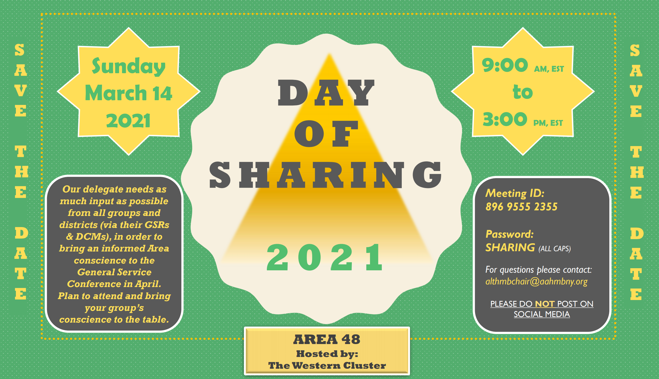 A48 Day of Sharing 3.14.21