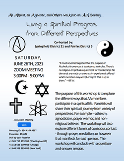 Spiritual Program Workshop 6-26