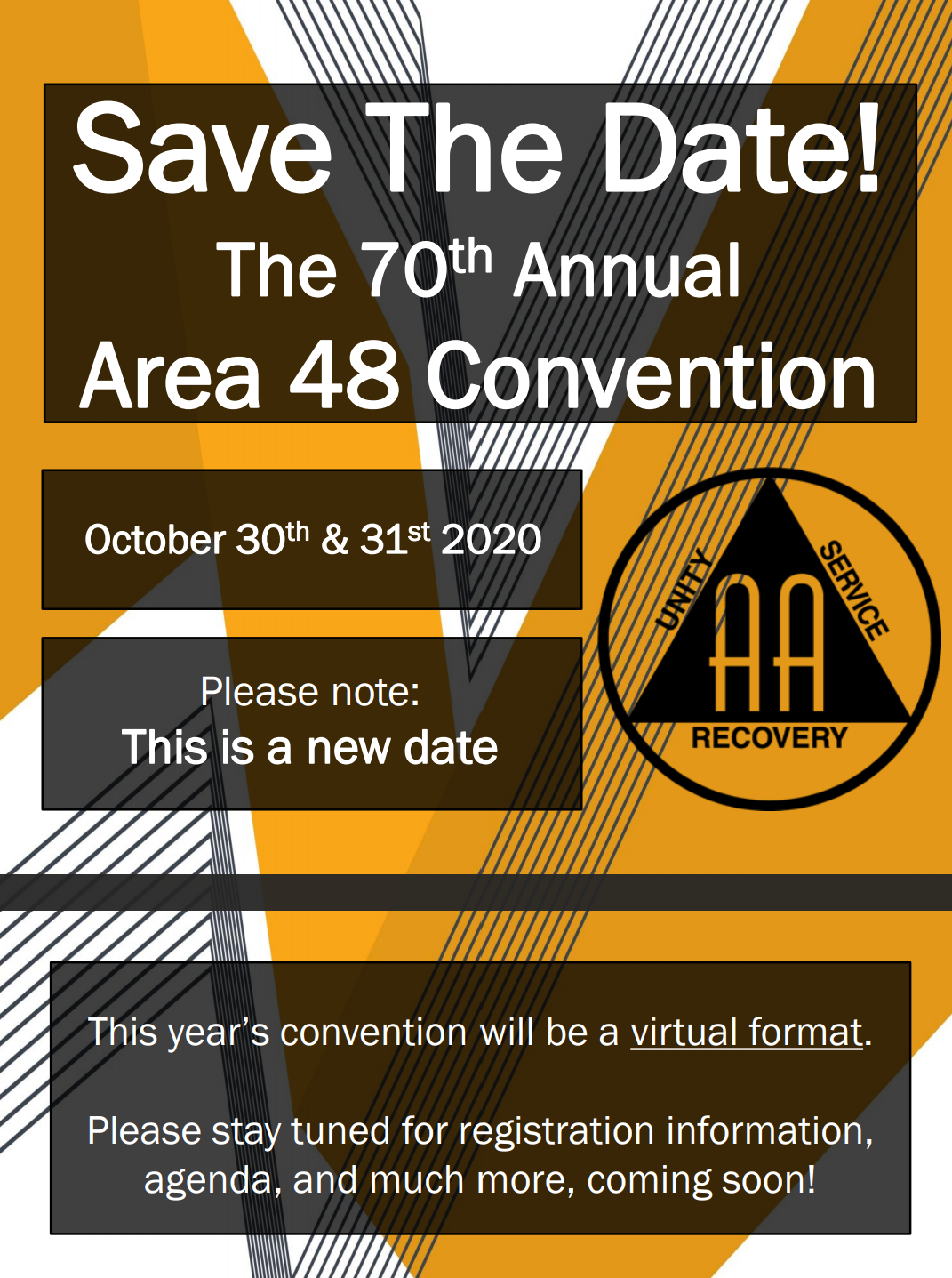 Area 48 Convention Flyer